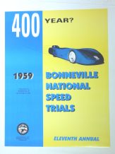 BONNEVILLE SPEED TRIALS 1959 Repro poster CHALLENGER 1 Land Speed Record Car